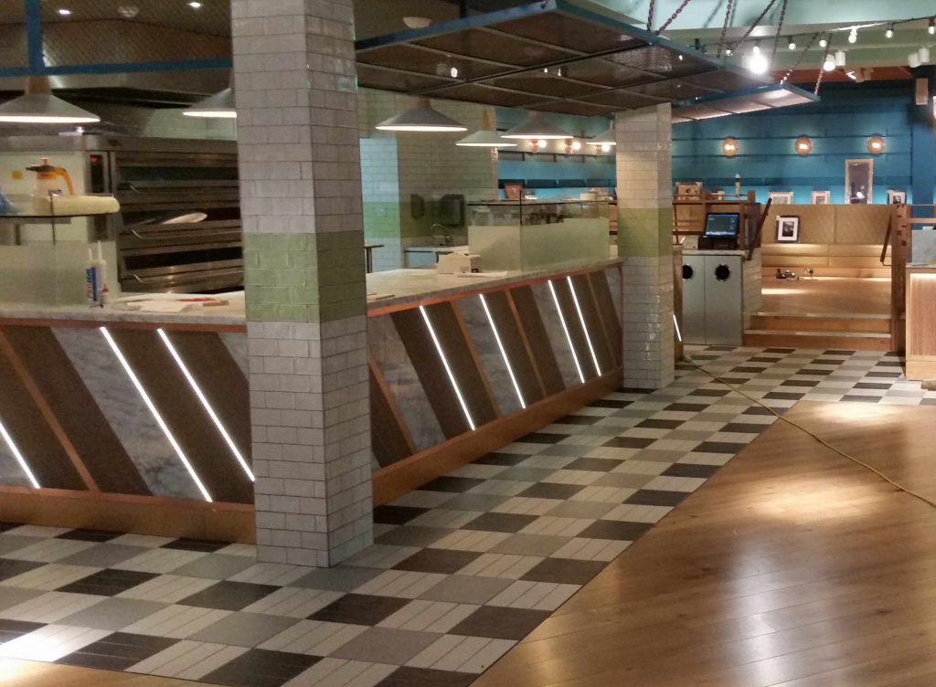 Commercial Tiling in Hospitality Projects