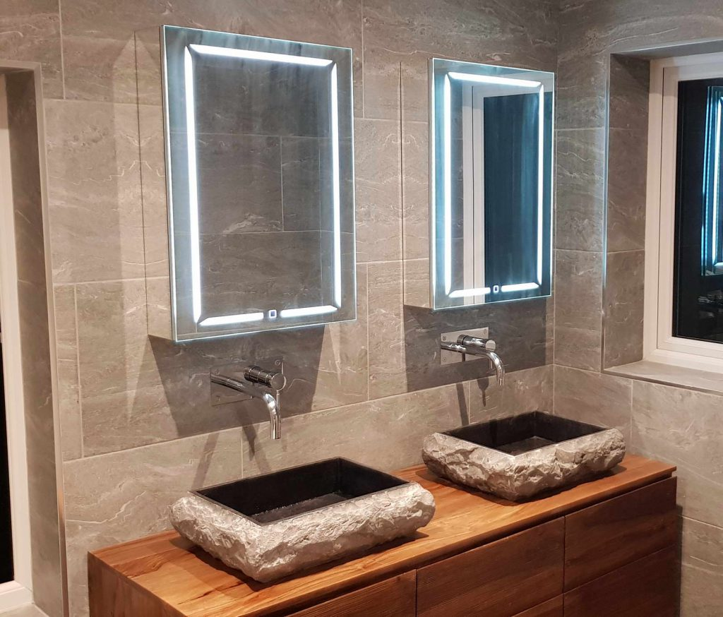 Luxury Domestic Bathroom Tiling And Fitting
