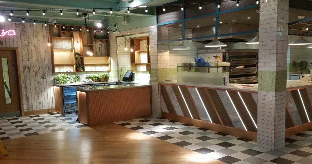 Restaurant Pizza Coffee Shops And More Tiling