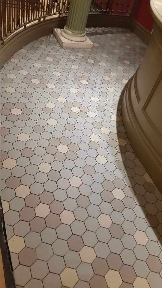 Work In Progress Commercial Tiling