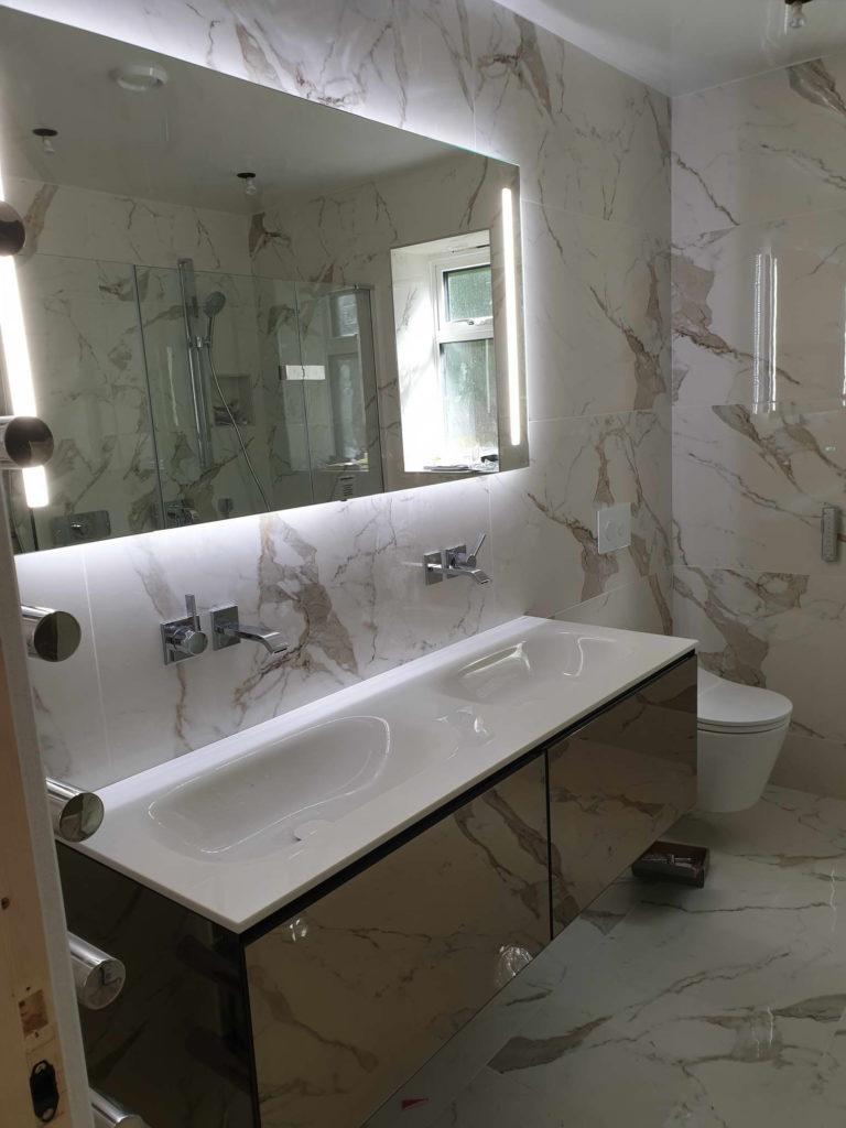 Beautiful Bathroom Tiling And Bathroom Fitting