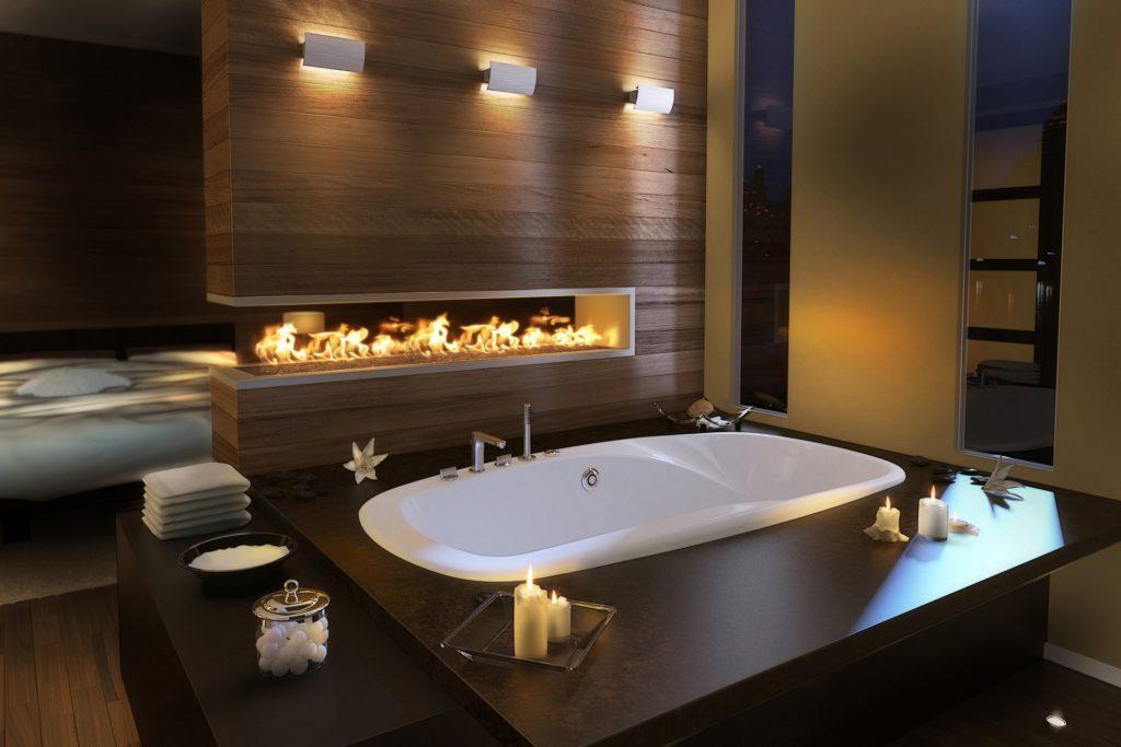 Truly warm bathroom