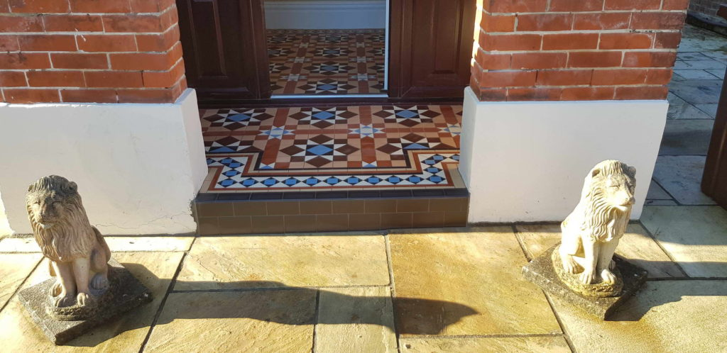 Victorian Tiling My Projects